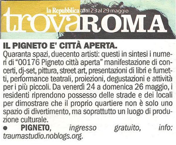 Trova Roma PCA