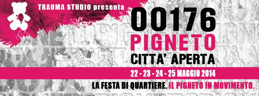 00176 PIGNETO CITTA' APERTA 2014